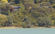 Totara cottage from water